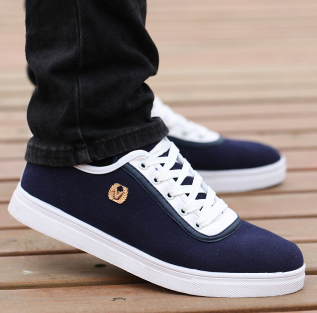2015 Latest Style Brand Sport Casual Shoes Men Matte Leather Skate