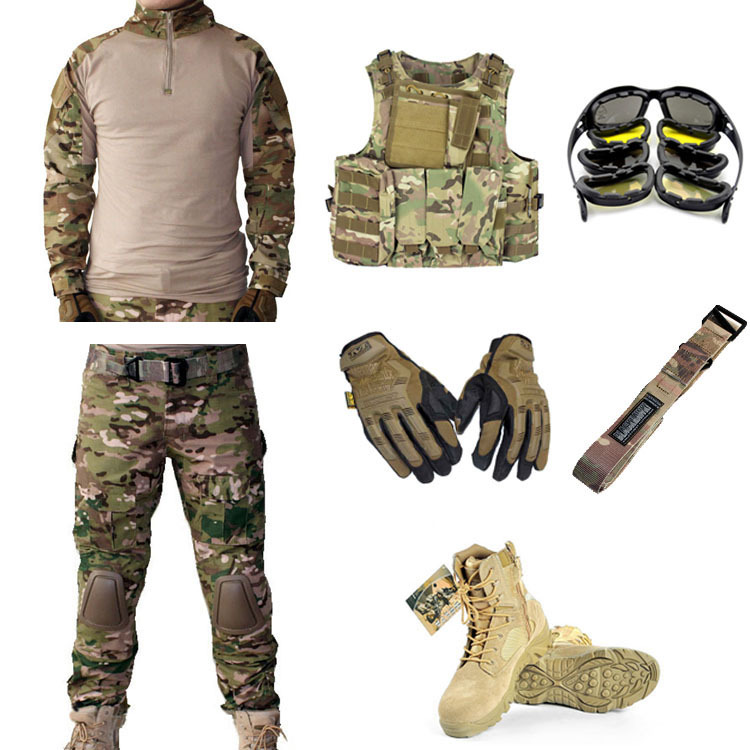 Military Usmc Frog Tactical Gear Airsoft Package Of 7 Pcs