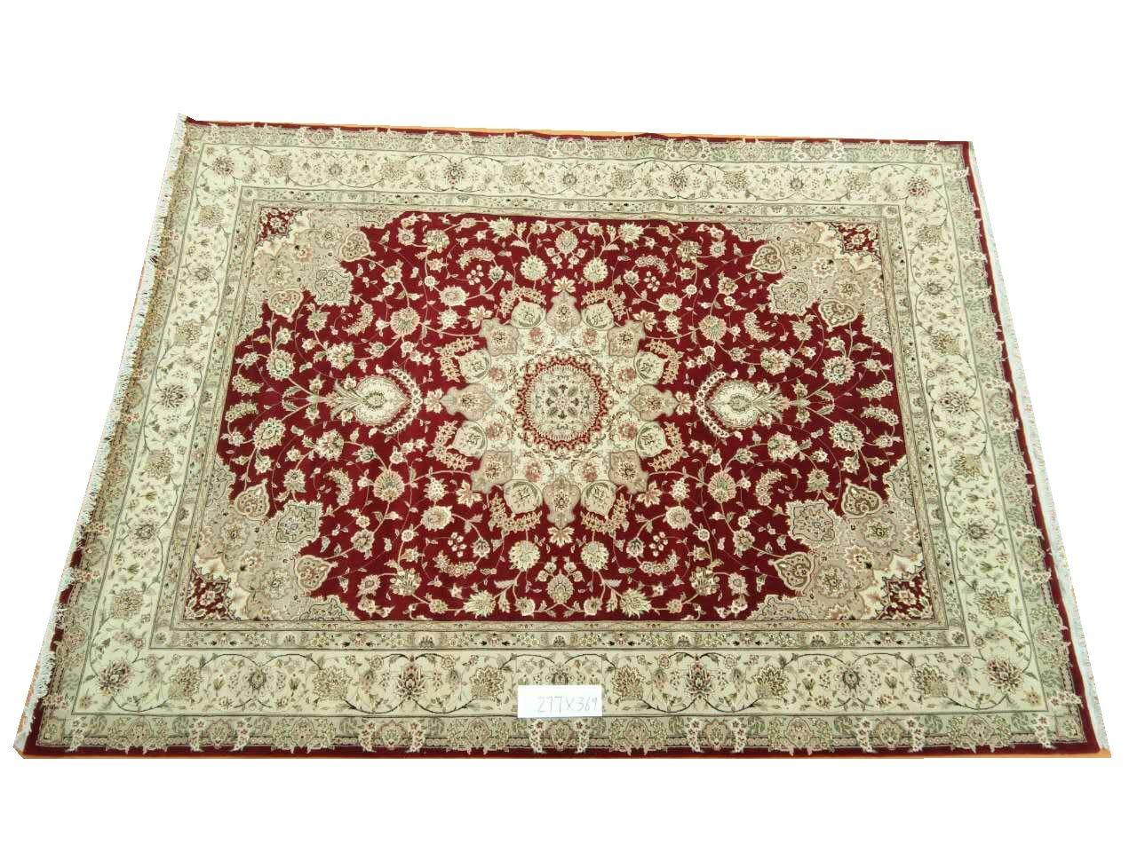 Tapis persans tapis laine et soie noués à la main tapis Oriental persan fait à la main 27 9X12gc157peryg9 tapis persan
