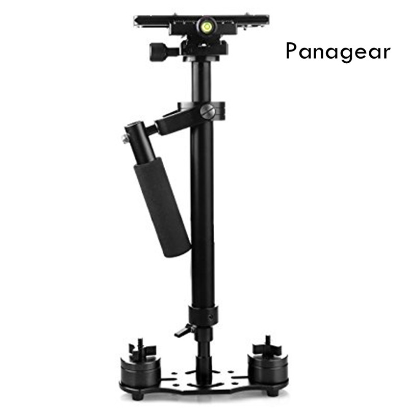 Panagear S80 31.5/80CM Handheld Stabilizer with Quick Release Plate 1/4 Screw for Camera Video DV  DSLR Nikon Canon Sony sf 04 mini handheld carbon fiber video camera stabilizer grip with quick release plate for sony pentax canon nikon dslr cameras