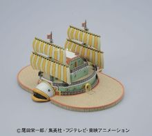 Baratie Pirate Ship Model