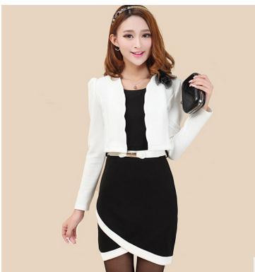 Autumn-new-OL-commuter-fashion-cultivate-one-s-morality-quality-professional-two-piece-Dress-small-suit (1)