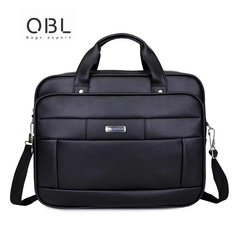 New Men Leather shoulder bags Versatile Black Top Handle Handbag Vintage Men's High Quality Laptop Crossbody Bags