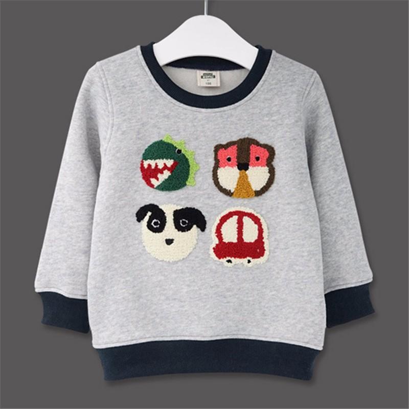 For Kids Sweatershirt Clothes T-Shirt Sweater Autumn Spring New Graffiti Cartoon Cat Letter Printing Next Boys Girls Bobo Choses17