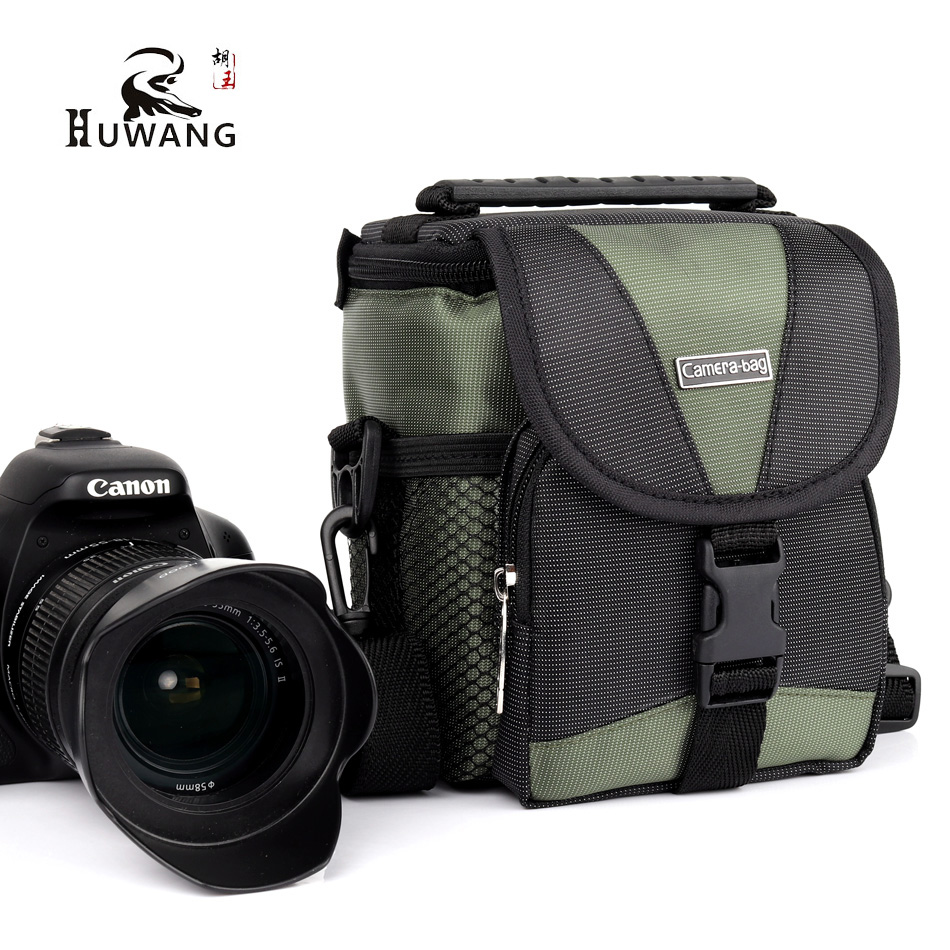 HUWANG 2018 Hot Sell New Camera Bag Shoulder Case For Nikon J5 V3 L840 Sony Alpha RX100 A6000 A5100 A5000 Samsung Case Nikon Bag