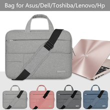 Сумка для ноутбука 13,3 14 15,6 дюймов huawei Asus Dell Hp lenovo acer сумка на ремне для планшета для мужчин женщин 13 14 15 сумка-мессенджер