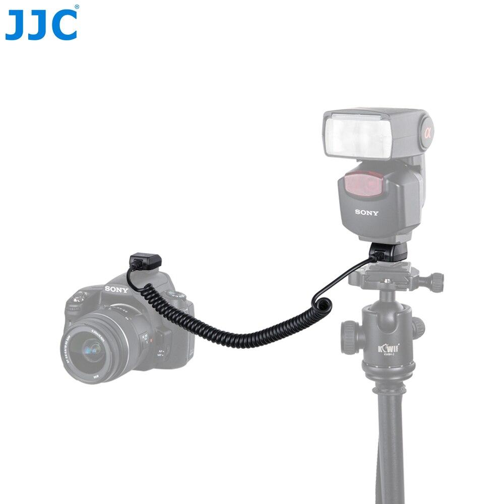 JJC 1,3 m TTL fuera de cámara Flash cordones Hot Shoe Sync Cable remoto para serie SONY ALPHA y Minolta Maxxum serie cámara con Flash