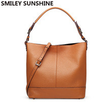 SMILEY SUNSHINE brand women leather handbags 2018 luxury handbags women shoulder bags designer pattern tote purse