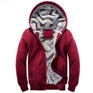 Image 4 - Sudaderas con capucha para mujer, ropa deportiva, Sudadera con capucha de algodón grueso y cálido, Sudaderas para Hombre, prendas de vestir, abrigo para mujer 5xl 2020