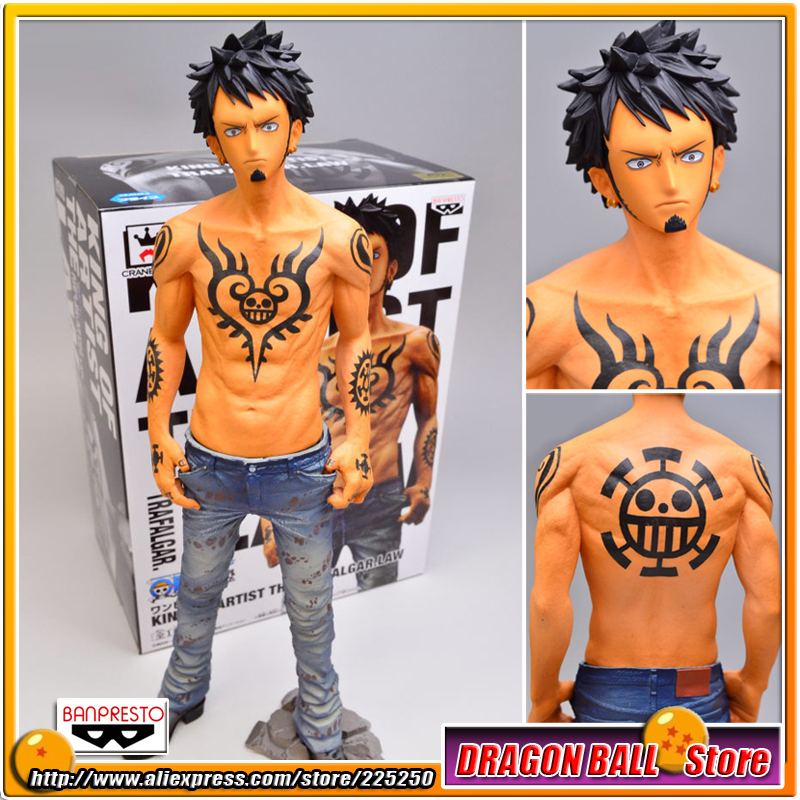 "Japan Anime ""One Piece"" Original BANPRESTO KING OF ARTIST PVC Toy Figure – THE TRAFALGAR.LAW"
