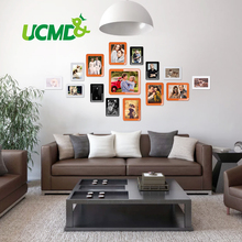 """Magnetic Photo Picture Frames 6"""" X 4"""" 7 X 5 Inches Wall Decor Movable Magnetic Photo Frame SET 15 Pcs / Pack"""