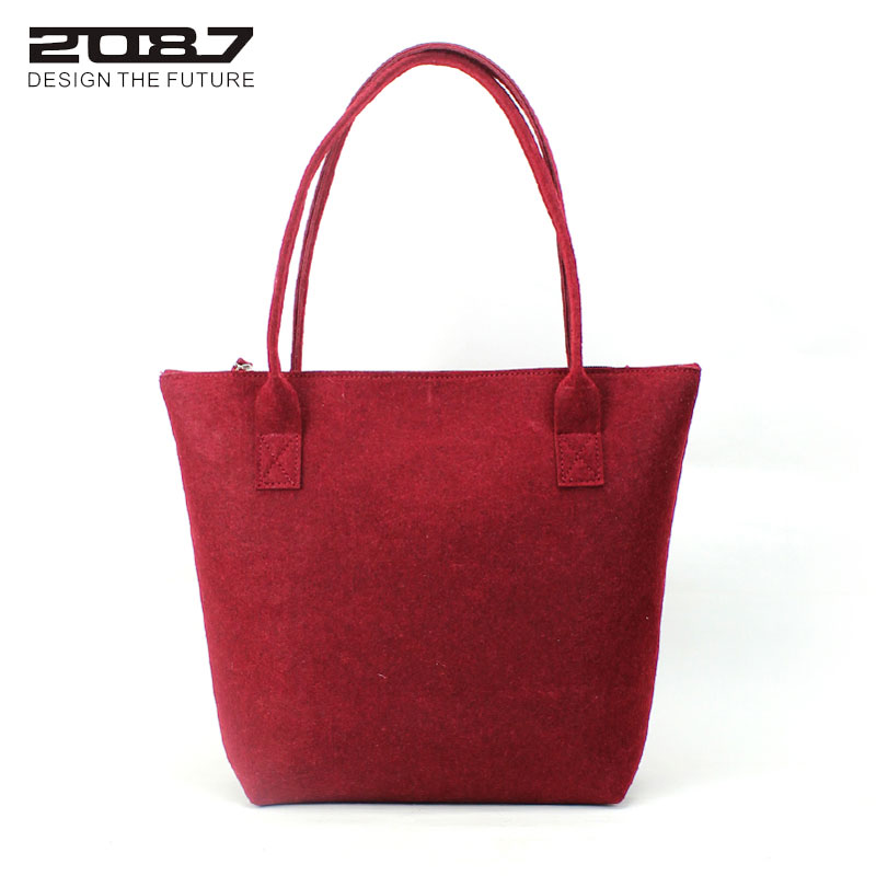 quality & cheap novidade simplesmente Bag Color : Dark Red/light Grey/dark Grey