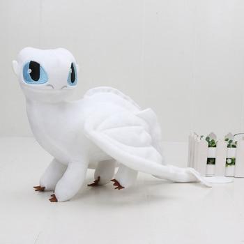 55cm 22cm 33cm 40cm Train Dragon Toothless Dragon Soft Stuffed Animal Plush Toys Juguetes de Peluches Bebe 17