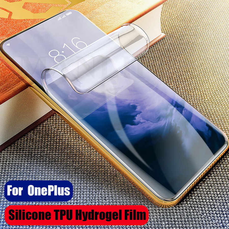 3D Silicone Hydrogel Soft TPU Film For OnePlus 7 Pro 6T 6 5 5T Full Cover Screen Protector Sticker For One Plus 7 Pro 6T 6 5 5T
