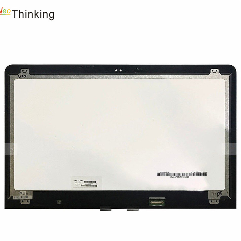 NeoThinking 15.6 Assembly For HP ENVY 15-AS020NR Laptop LED LCD Screen Digitizer Glass Replacement free shipping neothinking 13 3 assembly for lenovo ideapad u310 laptop led lcd screen digitizer glass replacement free shipping