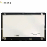 NeoThinking 15.6 Assembly For HP ENVY 15 AS020NR Laptop LED LCD Screen Digitizer Glass Replacement free shipping