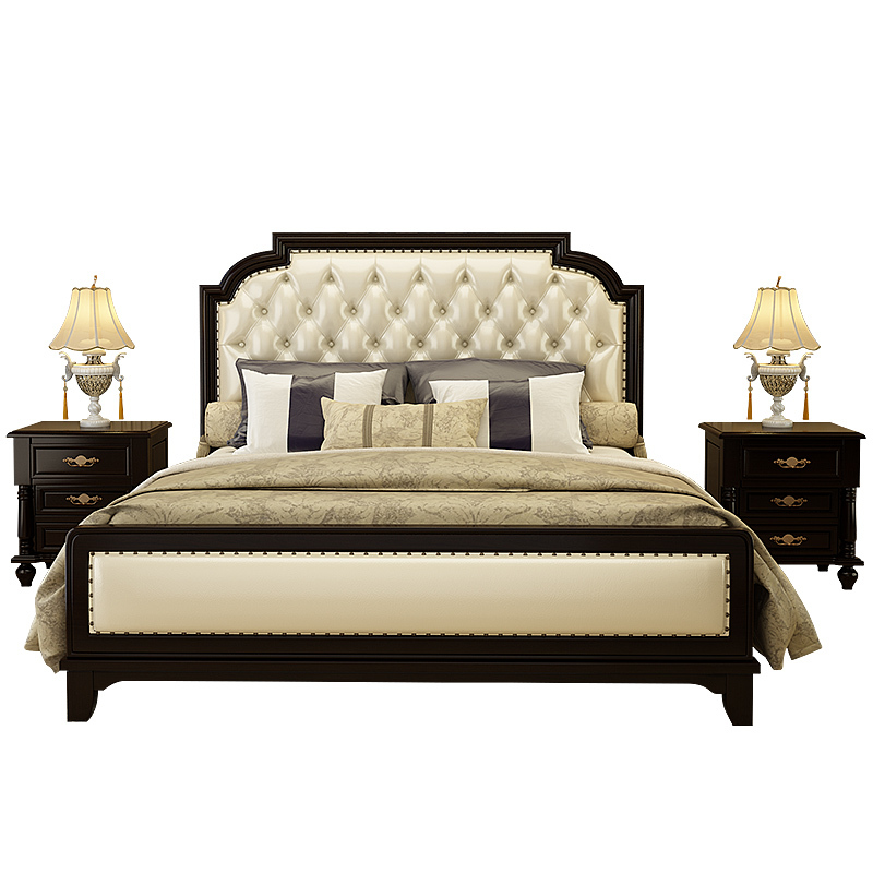 Odasi Mobilya Matrimonio Ranza Recamaras Moderna Modern Meuble Maison Leather De Dormitorio Mueble bedroom Furniture Cama Bed