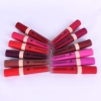 12pcs Lip Gloss Multicolor Box Moisturizing Sexy Colors Waterproof Long Lasting Matte Liquid Lip Stick M04974