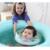 Para Voltas de Natação Anel da Nadada Do Bebê Ajustável Dupla Proteção Recém-nascidos Do Bebê Pescoço Float Bóia Salva-vidas Inflável Natação circular