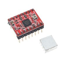 CNC 3D Printer Parts Accessory Reprap pololu A4988 Stepper Motor Driver Module with Heatsink for ramps 1.4 Free Shipping(China)