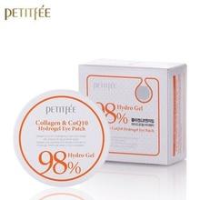 PETITFEE Collagen Co Q10 Hydrogel Eye Patch 60 Pcs Eye Mask