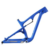 Snow Bike Frame 26er, Carbon Fat Bike Frame, Fat Bike Carbon Frame with 197mm rear spacing,120mm BSA fatbike