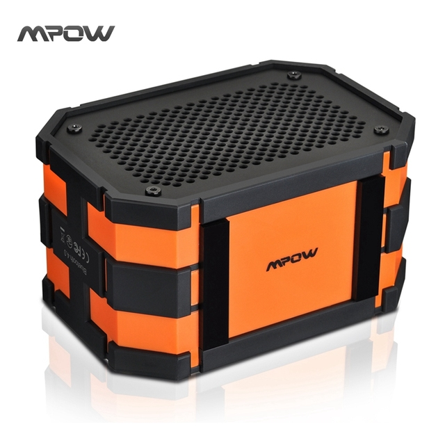 Updated Mpow Armor Waterproof wireless Bluetooth Speaker Passive Outdoor Loudspeakers MP3 Speakers Power Bank for iPhone Xiaomi