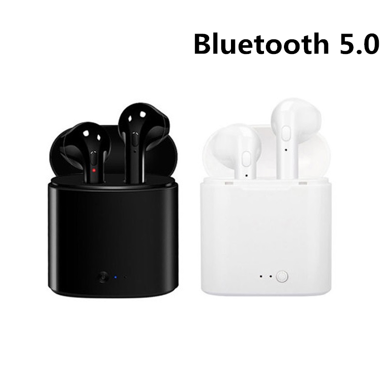 Universal Wireless Bluetooth Earphones I7s TWS Earbuds With Mic For Iphone Samsung Xiaomi 5 6 7 8 Redmi Note For Huawei LG