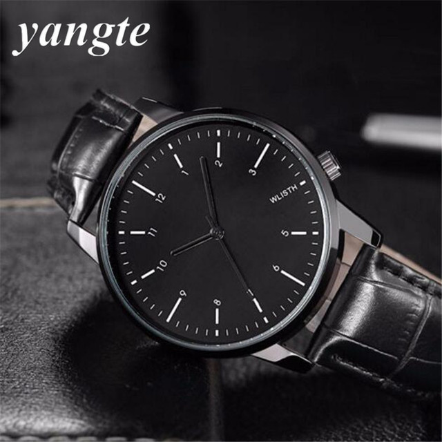 YANGTE Hodinky Quartz Watch Men Luxury Famous Wristwatch Male Clock Wrist Watch Fashion Quartz-watch Relogio Masculino AB1453