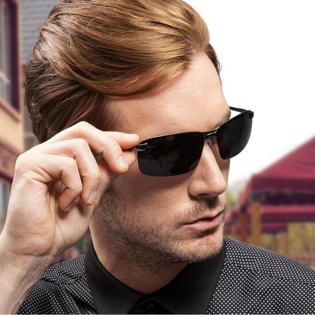 4d4ee44960e SUNLOVER Classic Polarized Driving sunglasses Men Vintage Style Polaroid sun  glasses Goggles oculos shades