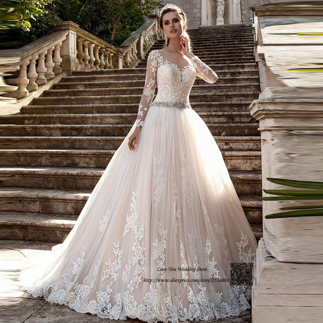Aliexpress.com : Buy Arabic Wedding Dresses Turkey Vestido ...