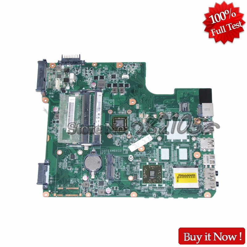 NOKOTION A000093580 DA0TE6MB6G0 Laptop Motherboard For Toshiba Satellite L745 L745D Main Board EME450 CPU DDR3 sheli v000275560 laptop motherboard for toshiba satellite c850 c855 l850 l855 6050a2541801 uma hd 4000 hm76 main board works
