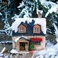 Повседневная коллекция  классическое Рождественское украшение для дома  домик для дома  Рождественский подарок Санты