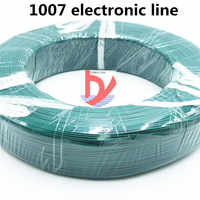 10m UL 1007 28AWG 10 color wire and cable copper tinned copper PCB wire RoHS UL certified insulated LED cable