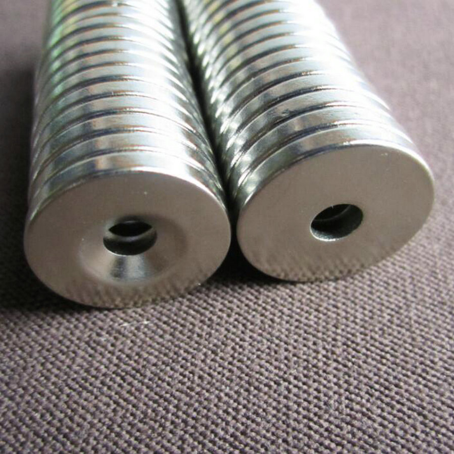 Strong Round Magnet 4mm x 5mm Rare Earth Neodymium 10-100pcs