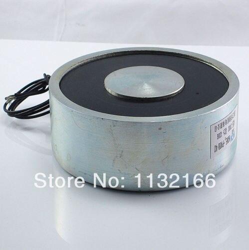 12VDC 100kg 220LB 100mm Holding Electromagnet Lift Solenoid