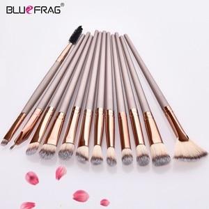 New Make Up Brushes Set 2/3/12pcs Professional Makeup Brushes Set Blending Eyebrow Eyeshadow Fan Brush Beauty Pincel Maquiagem(China)