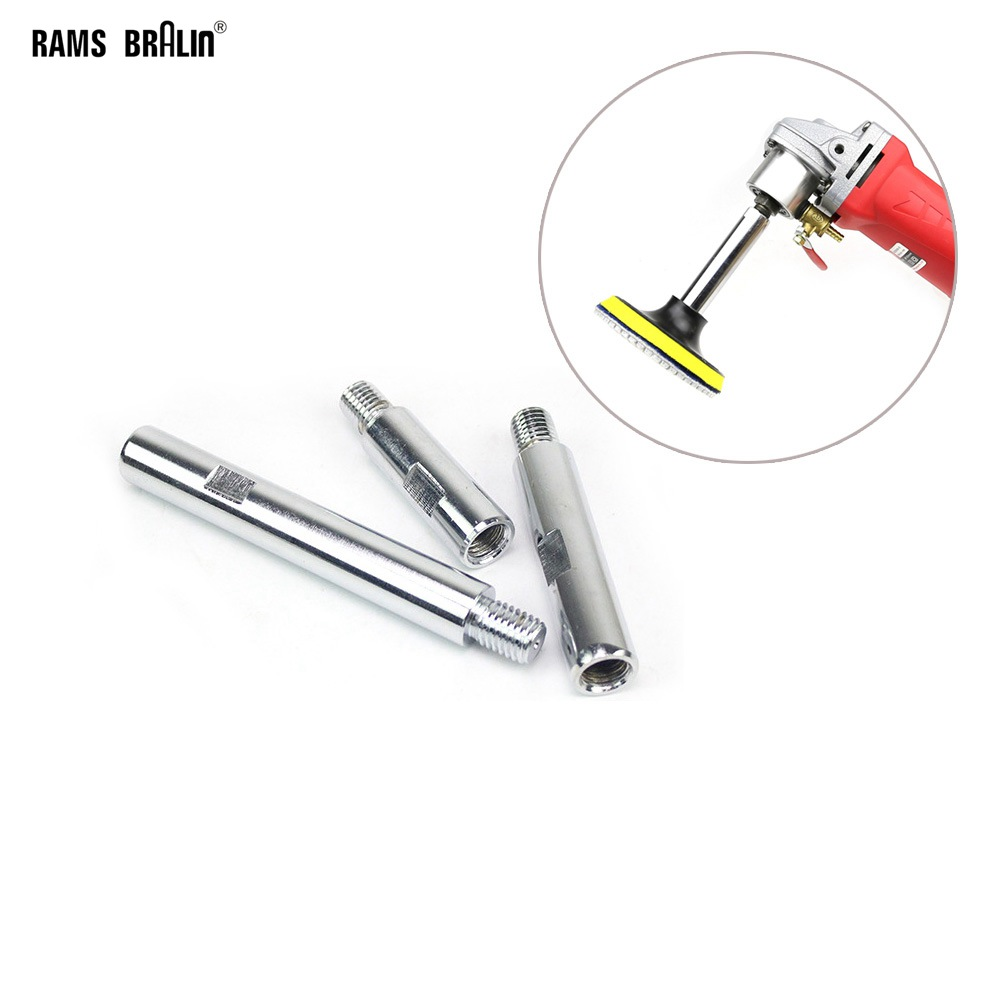 """1 piece Angle Grinder Bulgarian Extension Rod + 1 piece 4""""/100mm Nozzle for Grinder M14 Polisher Lengthen Bar Set-in Abrasive Tools from Tools"""