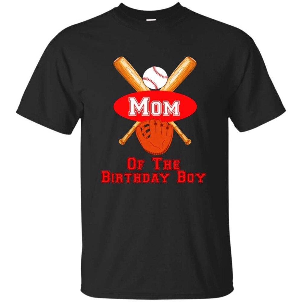 Мама именинника футболка baseballer Партии Футболка