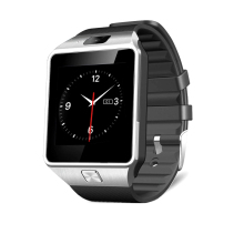 2016 New Fashion DZ09 Smart Watch with Camera Sim Card Slot Passometer Sleep Tracker Smart Anti-lost Sedentary Reminder