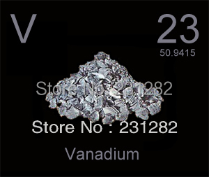 vanadium metal 99 5 pure branched crystalline form free shipping