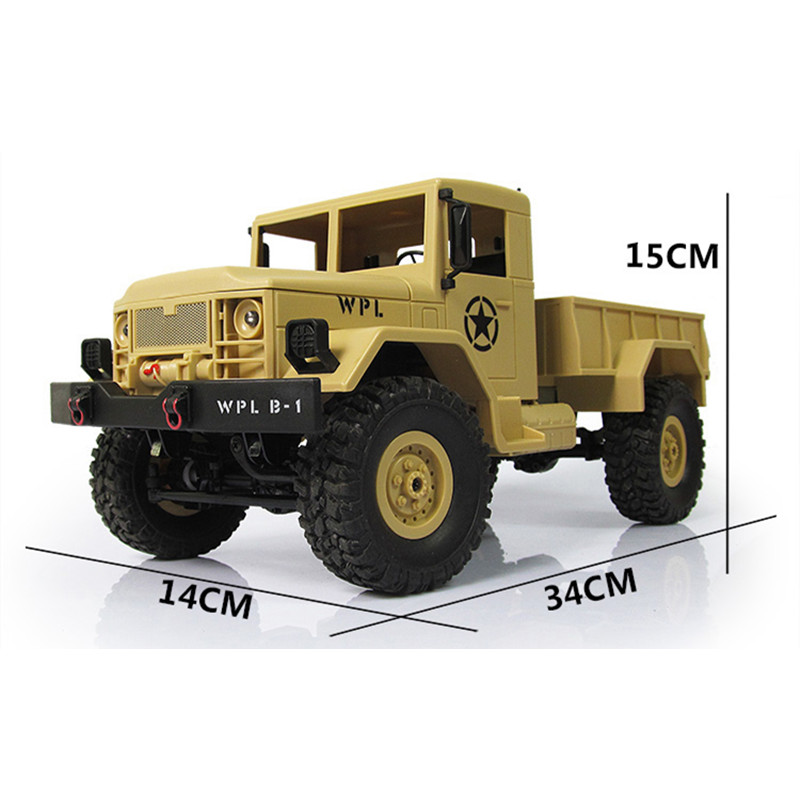 New-Arrival-WPL-WPLB-1-116-24G-4WD-RC-Crawler-Off-Road-Car-With-Light-RTR-Toy-Gift-For-Boy-Children-4