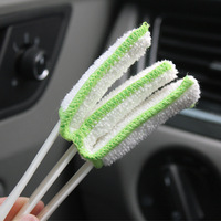 car air outlet Car Cleaning Tools Wash Brush Interior Accessories Air Conditioning Air Outlet Dashboard Remove Dust (3)