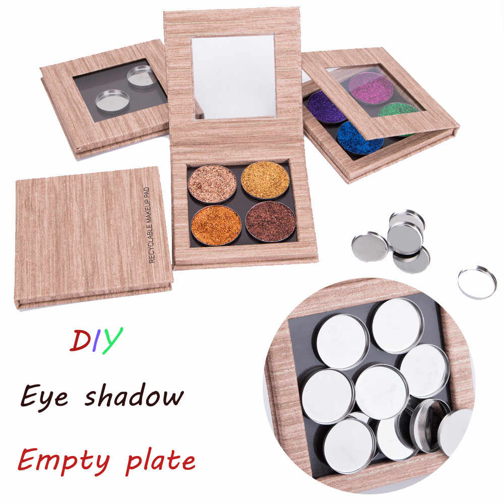 Empty Magnetic Makeup Palette DIY Eye Shadow Pigment Tray Holder Box Case