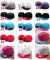 Free Shipping Blank Baseball Caps Snapback Hats Men Sports Plain Hats More Colors Mix Order 12pcs Per Lot