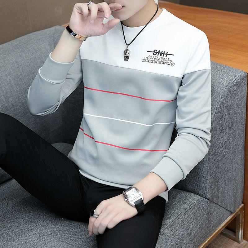 SpringNew Korean Men's Clothes With Round Collar