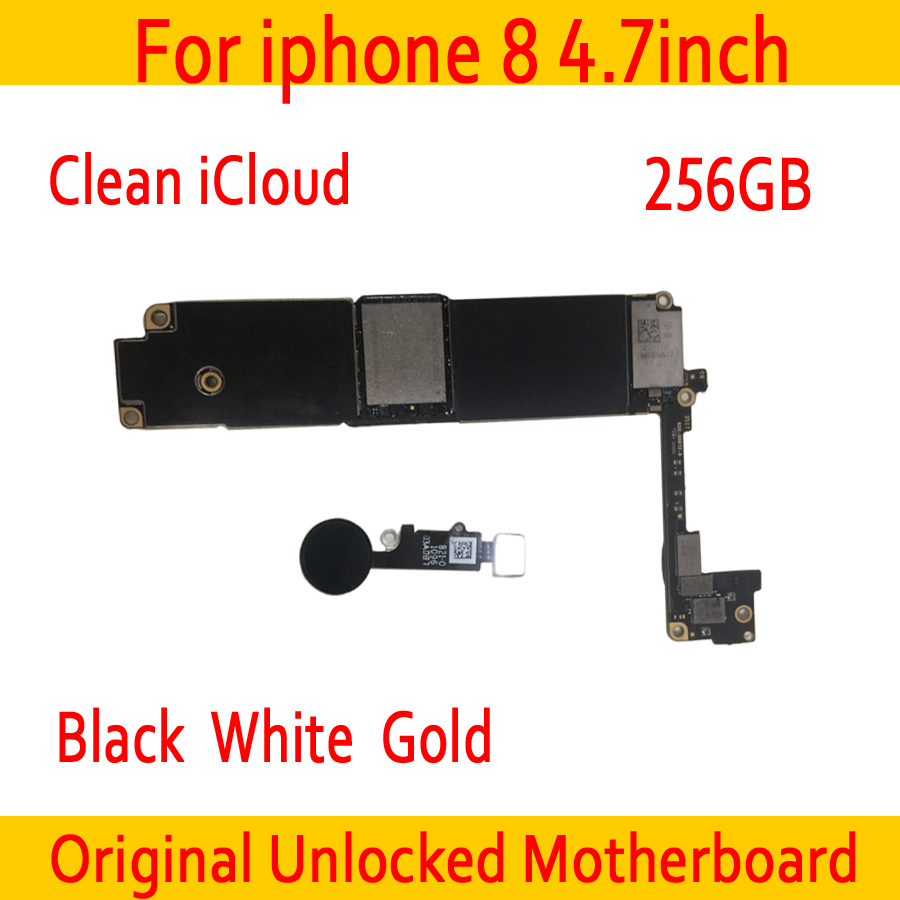 with IOS System for iphone 8 Motherboard with Touch ID,100% Original for iphone 8 Logic board 256GB Gold Black White Good Testedwith IOS System for iphone 8 Motherboard with Touch ID,100% Original for iphone 8 Logic board 256GB Gold Black White Good Tested