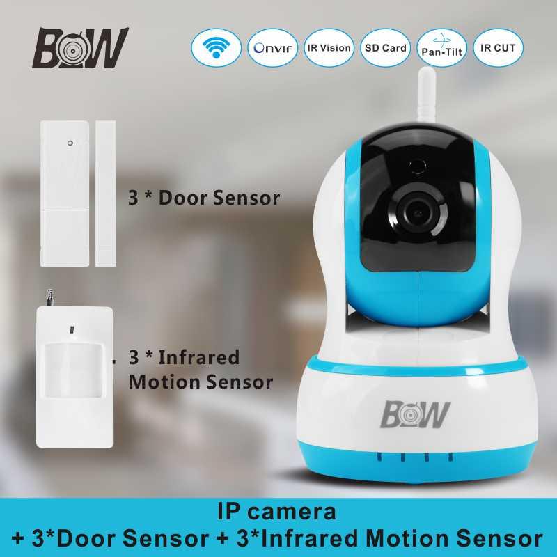 WiFi font b Camera b font IP 3 font b Door b font Sensor 3 Infrared