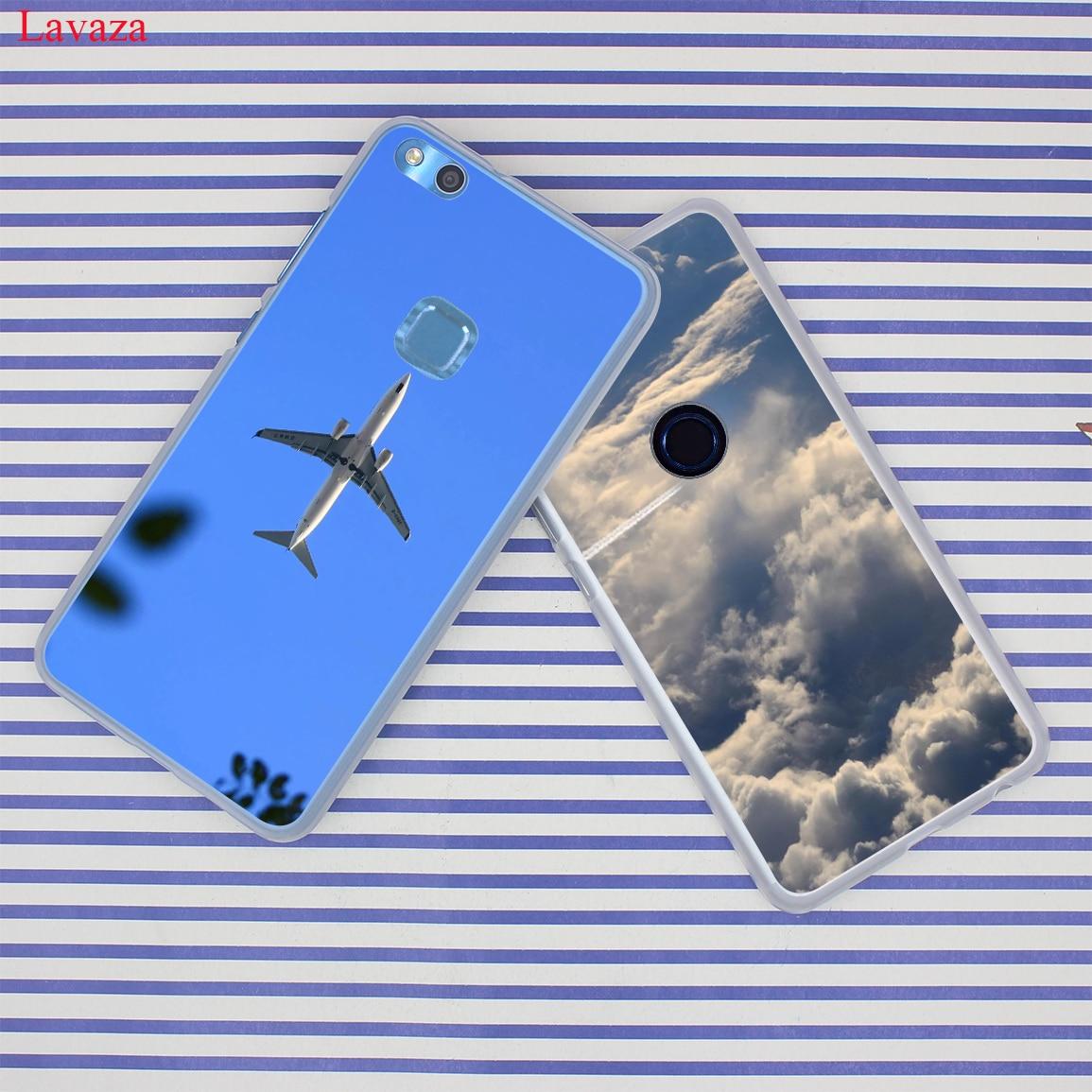 Lavaza Aircraft Airplane fly travel cloud Sky Case for Huawei Y6 Y3 Y5 II Y7 2017 Nova 2 Plus 2S 2i Honor 9 8 Lite 7 6 6A 7X 6X
