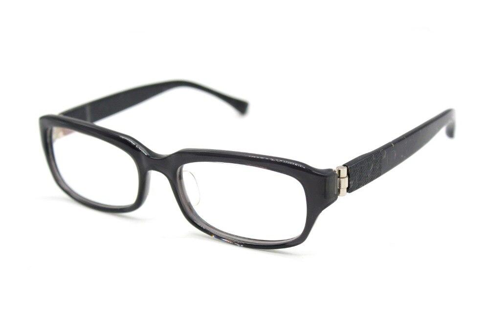 GENUINE Stone pattern wide leg Exquisite hinge HAND MADE Glasses ...